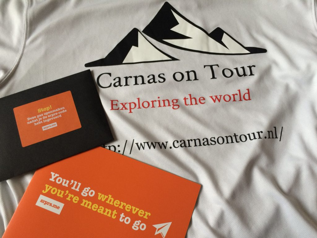 Carnas on Tour gaat op verrassingsvakantie.